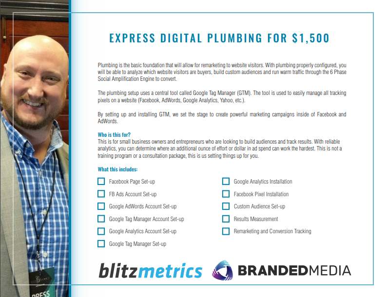 Express Digital Plumbing What's included
